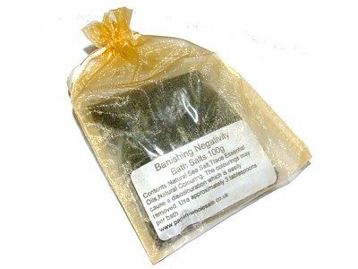 Magickal Bath Salts - Banishing Negativity